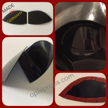 OPLE Props Darth Vader Helmet Rubies 34199 Supreme Deluxe Mask Lenses Replacement Lense Helmetlense Costume Cosplay