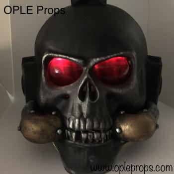 OPLE Props mounting service for OPLE Lumos Lighting system suits with helmets or masks