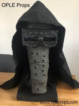 OPLE Props Garindan Bounty Hunter mask Mandalorian Seasion 1 episode 4 ready to wear complete Head costume 501st ready and approveable cosplay kubaz mando