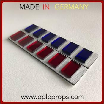 OPLE Props quality rank bar Director Orson Krennik cosplay movie prop accurate empire insignia cosplay Officer rankbar imperial army plaque 501st krennic rogue one