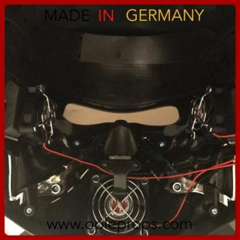 OPLE Props mounting service for a fan system suits for helmets, latex masks, googles etc. (incl. Airsoft and Paintball)