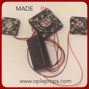 OPLE Props Fan System OPLE Nano Advanced Fan system Helmet & Mask Fans Cooling Device Costume Mascot