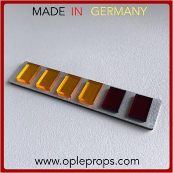 OPLE Props quality rank bar empire MajorGeneral Major General cosplay Officer rankbar Empire Imperial 501st insignia plaque metall