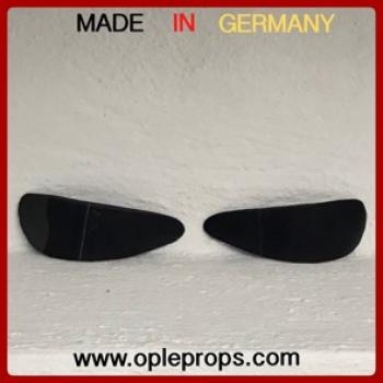 OPLE Props Lenses suits with Rubies Stormtrooper Supreme Helmet 35549 Lenses Replacement lense Helmetlense Costume Cosplay Spare part collectors edition