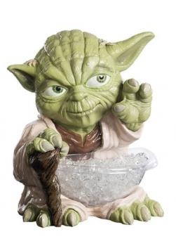 Rubies 368899 - Yoda Candy Bowl Holder Statue with bowl candybowl Jedi Master