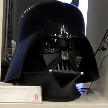 OPLE Props Darth Vader Helmet incl. OPLE Props Lense wearable 1:1 Darthvader costume
