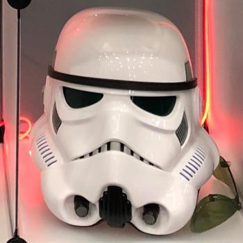 OPLE Props Stormtrooper Helmet incl. voice changer wearable 1:1