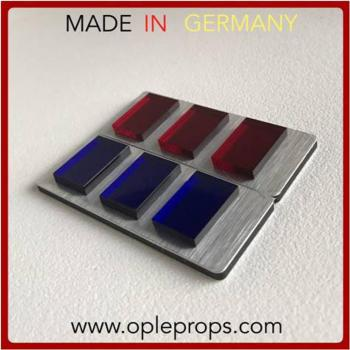 OPLE Props quality rank bar Captain Lorth Needa, Moff Tiaan Jerjerrod empire insignia cosplay Officer rankbar imperial army plaque 501st