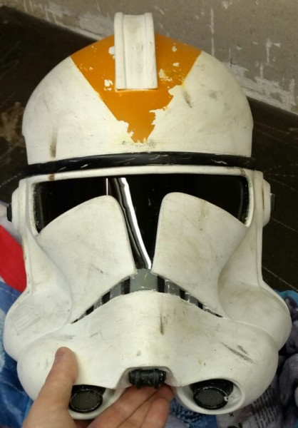 OPLE Props Clone Trooper Clonetrooper  Phase 1 and 2 custom made lense T-Visor Visor Cody Rex wolffe cosplay t-lense