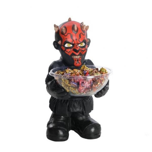 368372 - Darth Maul Candy Bowl Holder Statue with bowl candybowl darthmaul