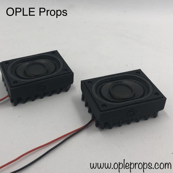 OPLE Props Deathtrooper Sound System for Deathtrooper helmets Mic Tips with mounted Speakers soundsystem Helmet Trooper Sound